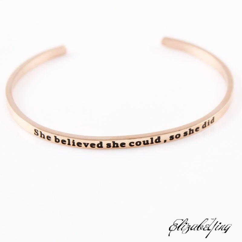 she believed (4)