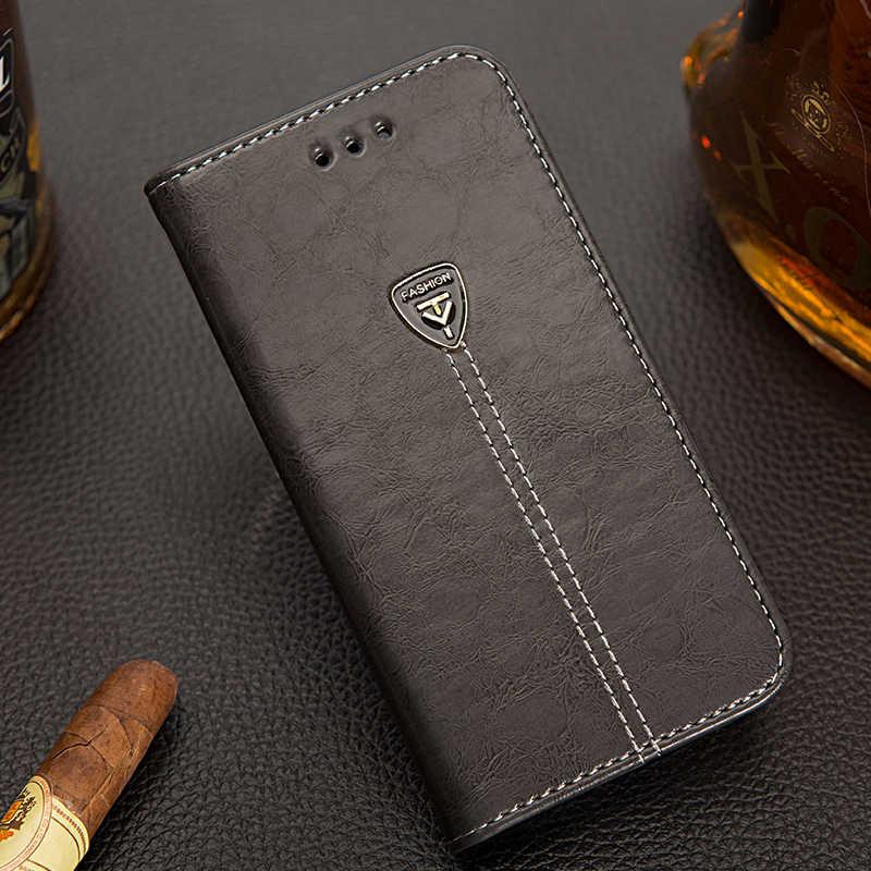 AMMYKI Hot rare Alta qualidade Quatro-cor virar PU LEATHER telefone de volta casos de cobertura de 5.0 «Para Nokia lumia 2 caso 2