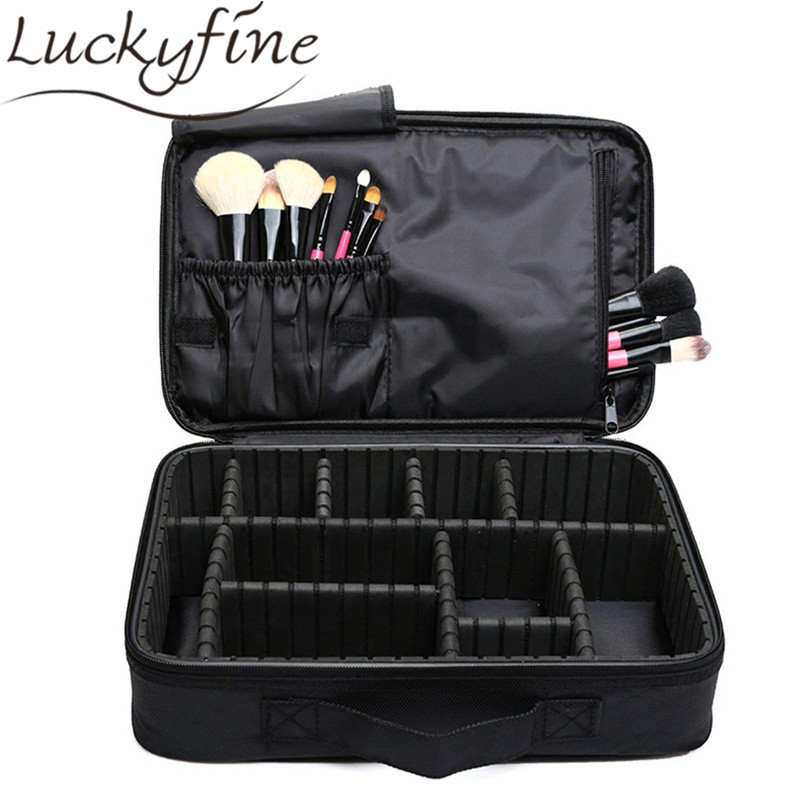 Makeup Brush Bag Case Make Organizer Toiletry