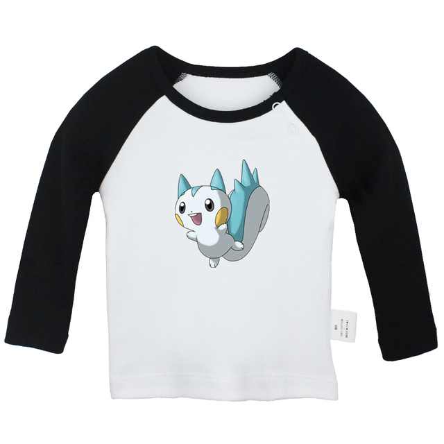Cute Pokemon Eevee Newborn Baby T-shirt Infant Clothes Toddler Graphic Tee Vest