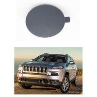 1 PC De Voiture Pare-chocs Avant de Remorquage Crochet De Remorquage Oeil Cache pour Jeep Cherokee 2014