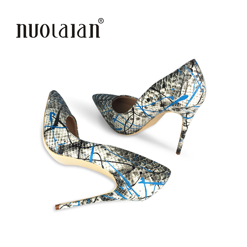 2018 Brand Shoes Woman High Heels Women Pumps Stiletto Thin Heel Women's Shoes Pointed Toe High Heels Party Dress Shoes aiweiyi 2018 summer women shoes pointed toe stiletto high heel pumps dress shoes high heels gold transparent pvc shoes woman