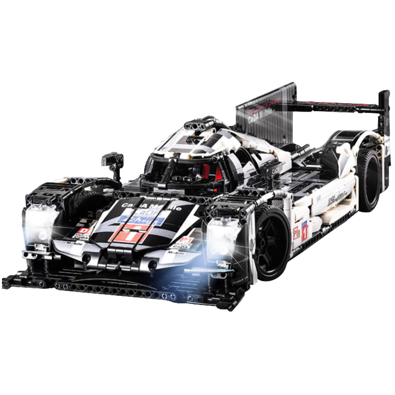 Self Locking Bricks Technic Car Mechanical Power Model Building Blocks Racing Cars Compatible With Technical Boys