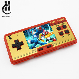 Classic Retro Portable Game Console for fc 8 bit 638 free games mini 3 inch color screen support TV Out emulador video games