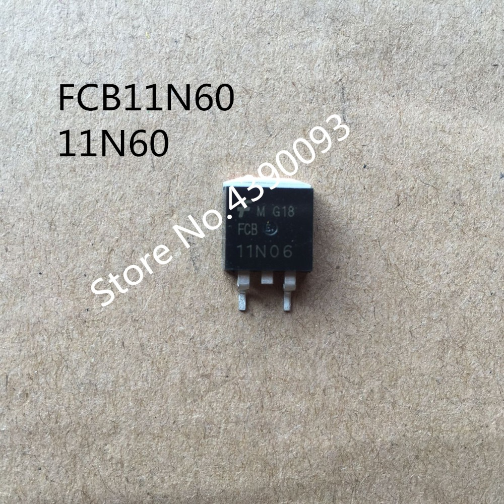50pcs/lot FCB11N60 600V 11A 11N60 TO-263 bt131 600 to 92 600v 1a