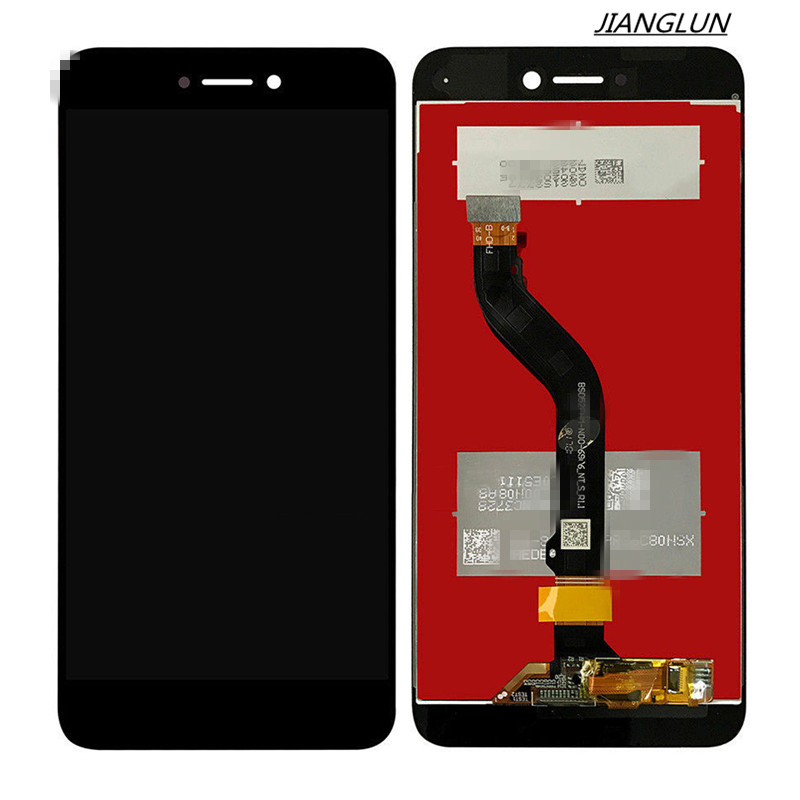 JIANGLUN New  For Black Huawei P8 Lite 2017 Touch Digitizer Screen+LCD Display Assembly jianglun new lcd screen display flex cable for apple imac 27 a1312 mid 2011 mc813 593 1352