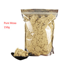 SHARE HO 40:1 Pure Moxa Artemisia Wormwood Burner Moxibustion Acupuncture Point Warm Heating Therapy Chinese Moxa Mugwort 150g share ho moxibustion acupuntura points anti broken vacuum cans with burning moxa artemisia heating therapy chinese cupping