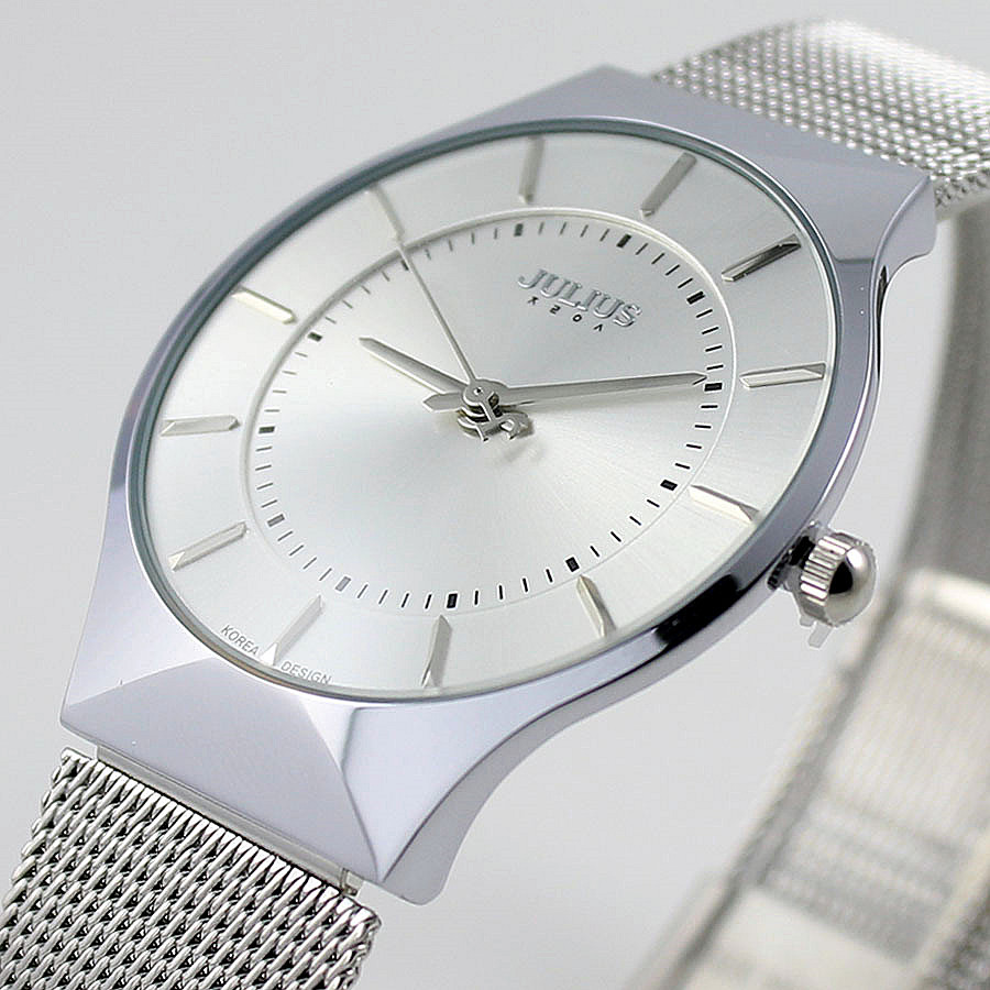 Top Luxury Brand Julius Men S Watches Stainless Steel Band Analog Display Men Quartz Wrist Watch Ultra Thin Dial Men S Watches Watch Camcorder Watches Softwarewatch Leopard Aliexpress