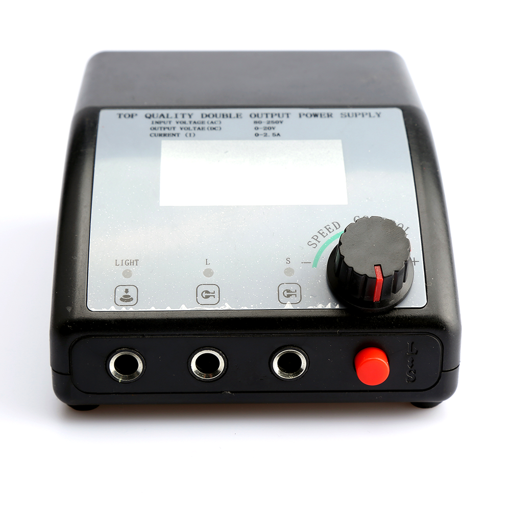 Phoenixy Display LCD Doppia Uscita Digitale Alimentazione elettrica Del Tatuaggio Per La Macchina Del Tatuaggio di Controllo della Velocità HA CONDOTTO LA Luce