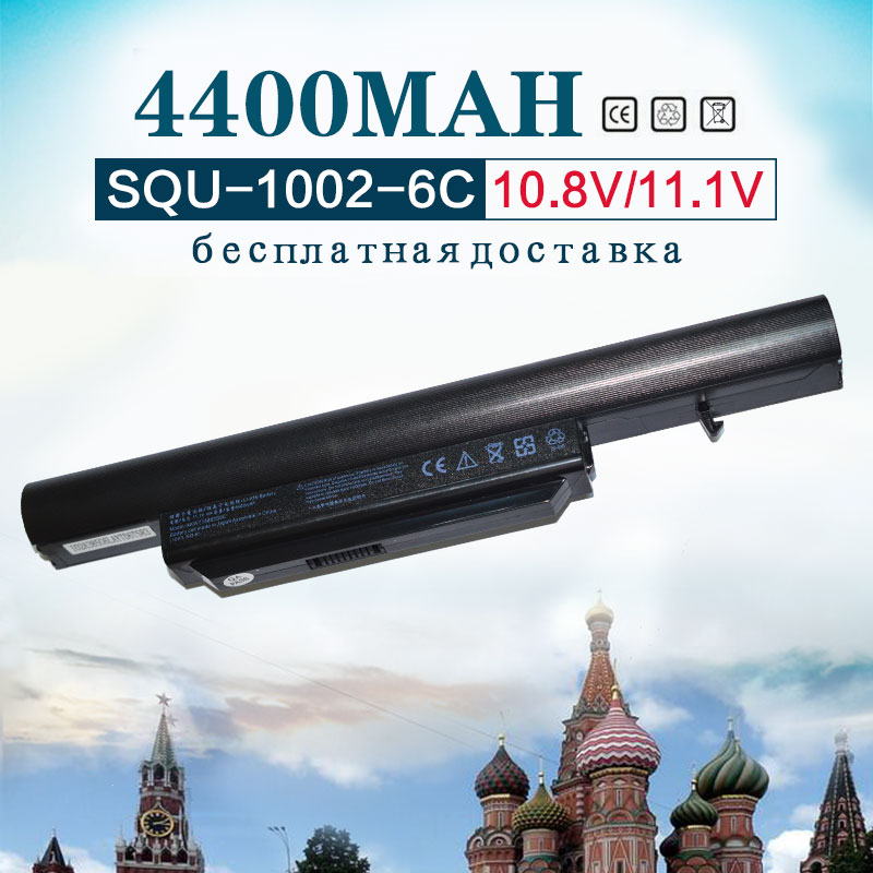 Golooloo laptop battery for Hasee SQU-1002 A560P SQU-1003 K580P R410 CQB913 CQB916 CQB912 K580S CQB917 SQU-1008 R410G R410U T6-3 brand new 15 6 led laptop screen panel for hasee a560p k580s k580n k580p e530 y500 k590s 1366 768
