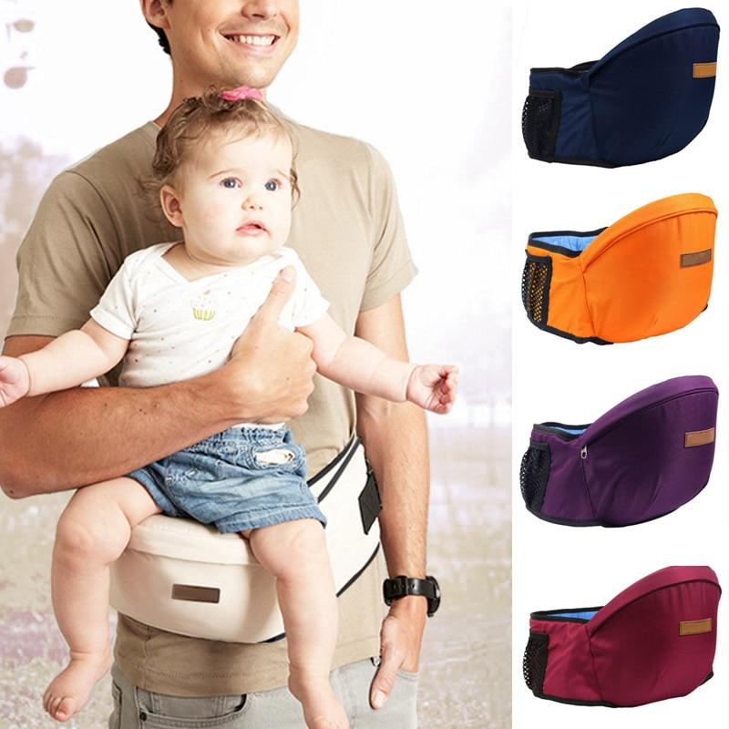 Baby Carrier Hip Seat Stools Lightweight Kids Infant Toddler Waist Seats Belt FJ88
