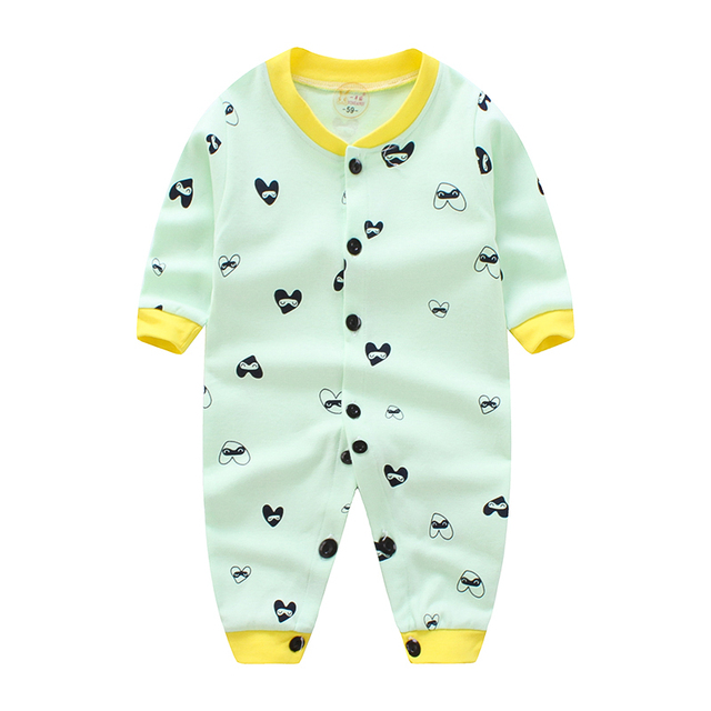 1185e5a3715e 2018 baby romper suit baby climb clothes during the spring and ...
