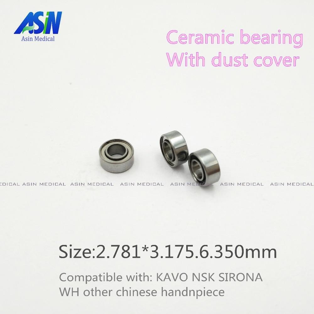 10pc Hot sale ASIN dental ceramic bearing 3 175x6 35x2 78 Ceramic Ball 7 8 beads