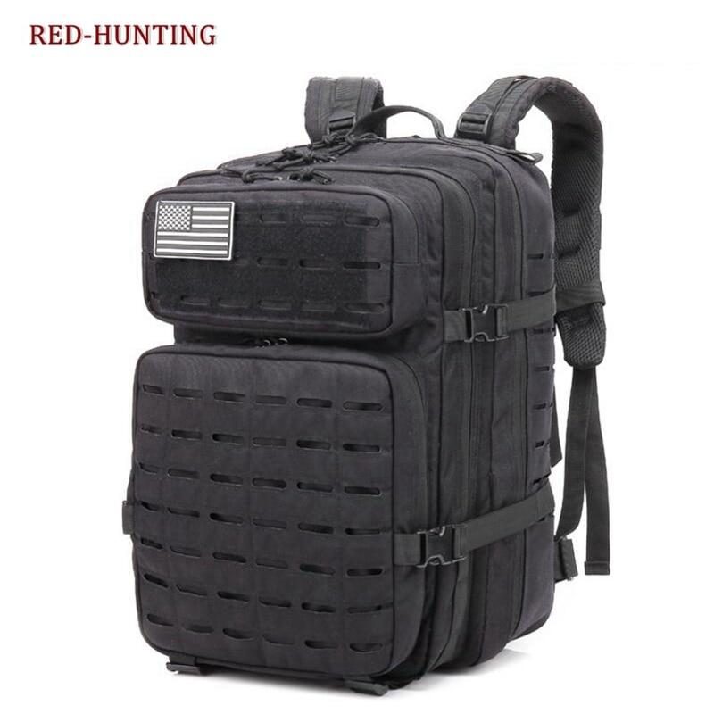 45L Waterproof Oxford Outdoor Sport Molle Tactical Travel Bag Mochila Camping Hiking Trekking Backpack Rucksack
