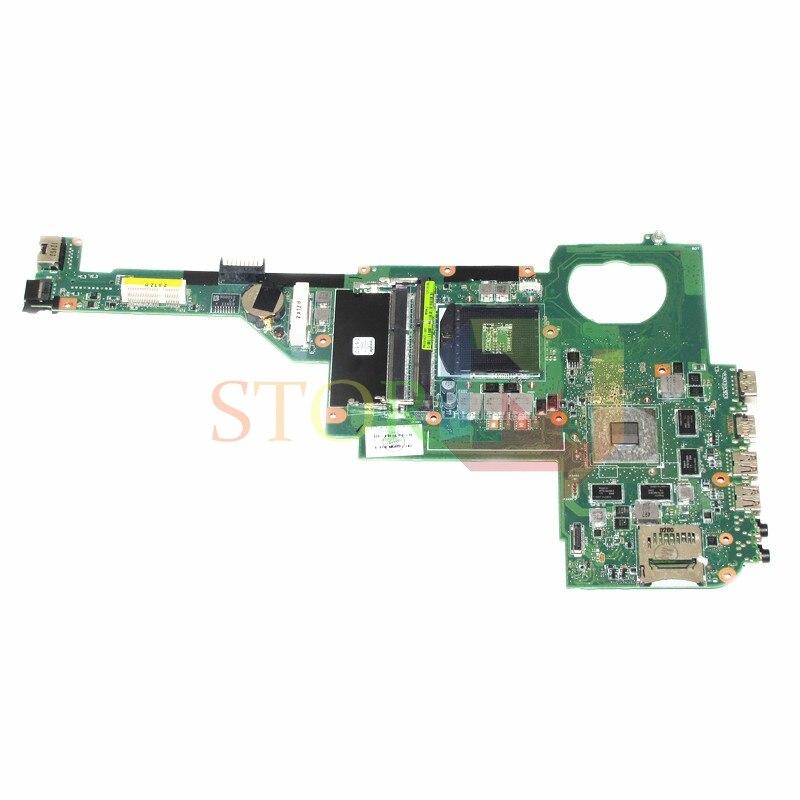 NOKOTION For HP Pavilion DV4 DV4-5000 Laptop Motherboard 717185-501 717185-001 HM77 HD7670M DDR3 nokotion 676756 501 676756 001 for hp pavilion dv4 dv4 5000 laptop motherboard intel hd4000 hd graphics ddr3 hm77