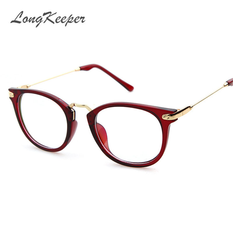 Eyeglass Frame Fashion 2017 : 2017 Round Spectacle Frame for Female Grade Computer ...