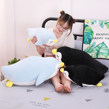 Hot New 1pc Soft Penguin Plush Toys Staffed Cartoon Animal Doll Fashion Toy for Kids Baby Lovely Girls Christmas Birthday Gift hot sale 38cm colorful glowing teddy bear luminous plush toy staffed lovely toy for kids girls gift kawaii doll