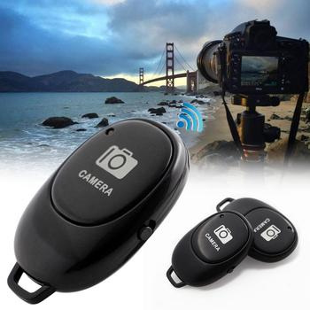 Bluetooth bezprzewodowy zdalna migawka kamery monopod do telefonu Selfie kij migawki samowyzwalacz zdalnego sterowania czasowego dla IOS Android tanie i dobre opinie Aparat Kamera Wideo Rondaful