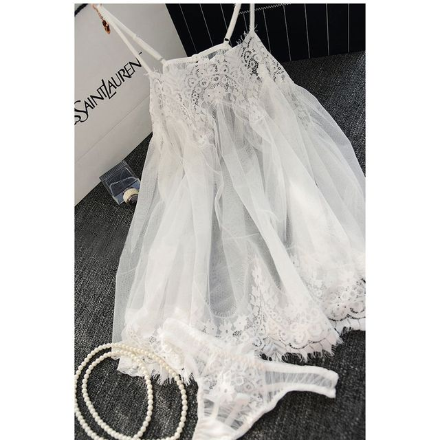 e6a6ac3371836 US $4.13 |NEW Women Beach Dress Sexy Strap Sheer Floral Lace Embroidered  Crochet Summer Dresses Hippie Boho Dress Vestidos Beach Wear-in Dresses  from ...