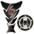 Para Suzuki GSXR 600 750 2004-2010 Tanque De Combustible y la Tapa Protector de la Etiqueta engomada