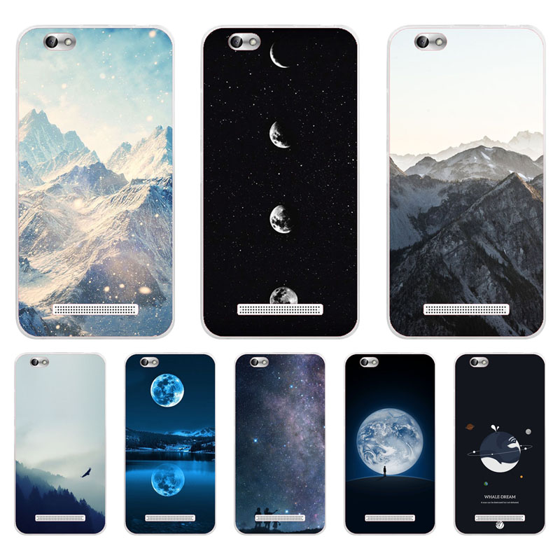 Lenovo vibe c Case,Silicon scenery Painting Soft TPU Back Cover for Lenovo a2020 a2020a40 Protect Phone cases shell