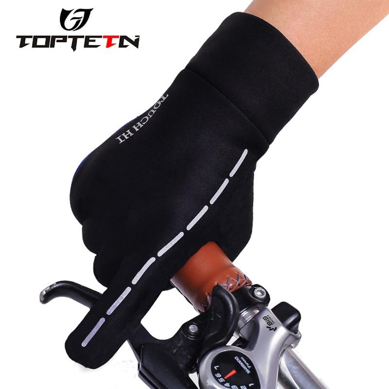 Radsport Bekleidung Kenntnisreich Toptetn Outdoor Sports Skiing-screen-handschuh Radfahren Handschuhe Bergsteigen Military Motorrad Racing Handschuhe Radfahren