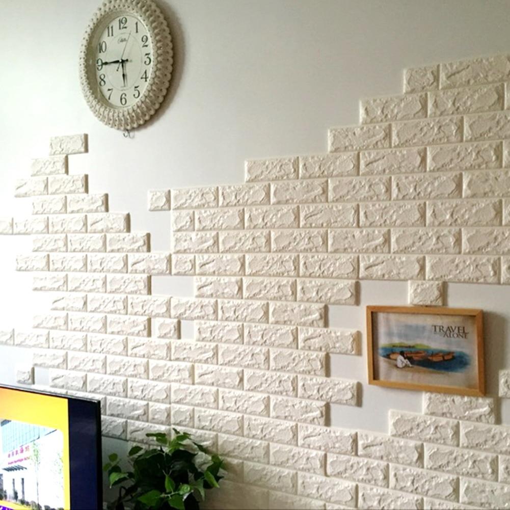 70x77cm PE Foam 3D Wall Stickers Safty Home Decor Wallpaper DIY Wall ...