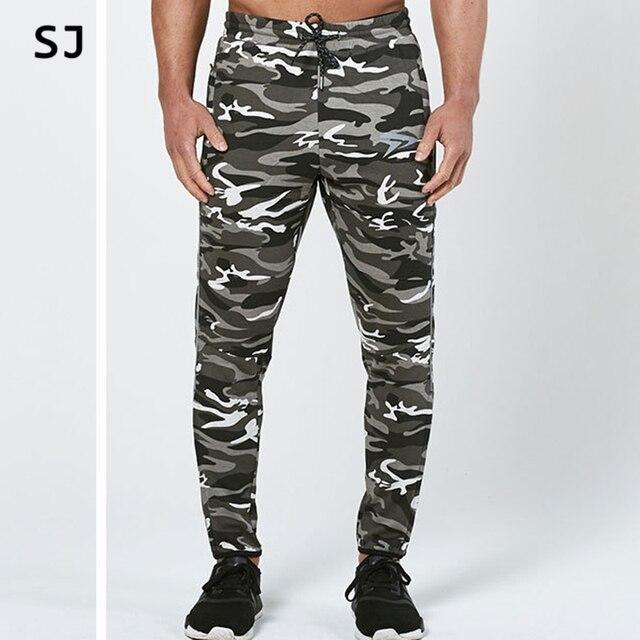 2017 Fashion Camouflage Pants Men Long