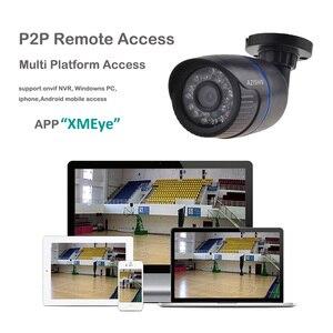 Image 3 - AZISHN 2.8 ミリメートルワイド IP カメラ 1080P 960 1080P 720 1080P ONVIF P2P モーション検出 RTSP 電子メールアラート XMEye 48V POE 監視 CCTV 屋外