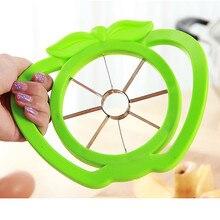 Кухонный нож для яблока, зеленый, красный, пластиковый прочный нож для фруктов, удобная ручка, Овощечистка для дома, многофункциональный инструмент F127