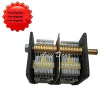 CBL-2 * 365PF воздуха двойной конденсатор переменной емкости 711 электронная лампа красный свет радио