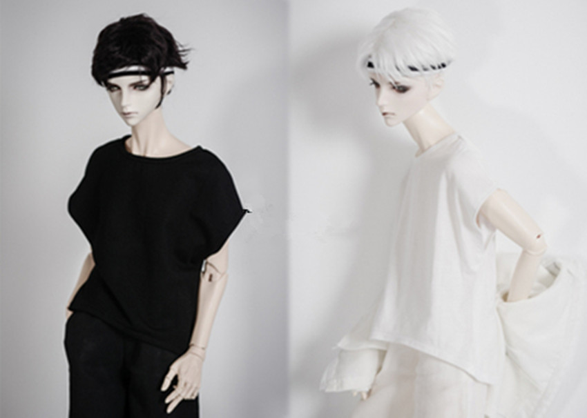 High lapel Backless Sweater Unisex for BJD 1//4,1//3 SD16 Doll Clothes CWB47