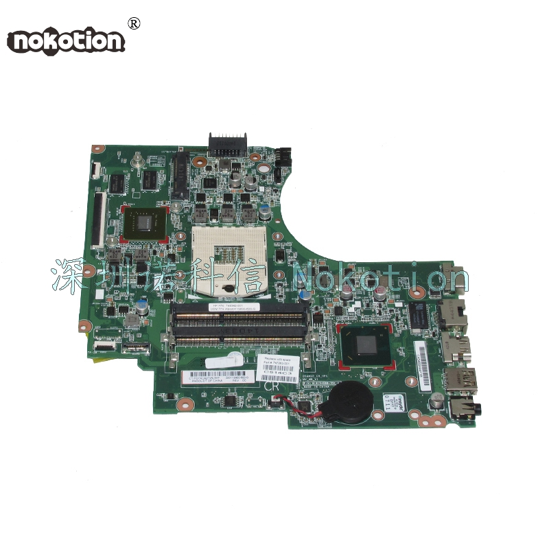 NOKOTION 747263-001 747263-501 for HP Compaq 14-D 240 G2 246 G2 laptop motherboard 820m graphics HM76 747262 001 for hp 240 246 g2 14 d series laptop motherboard p n 010194g00 35k g hm76 mainboard rpga989 100