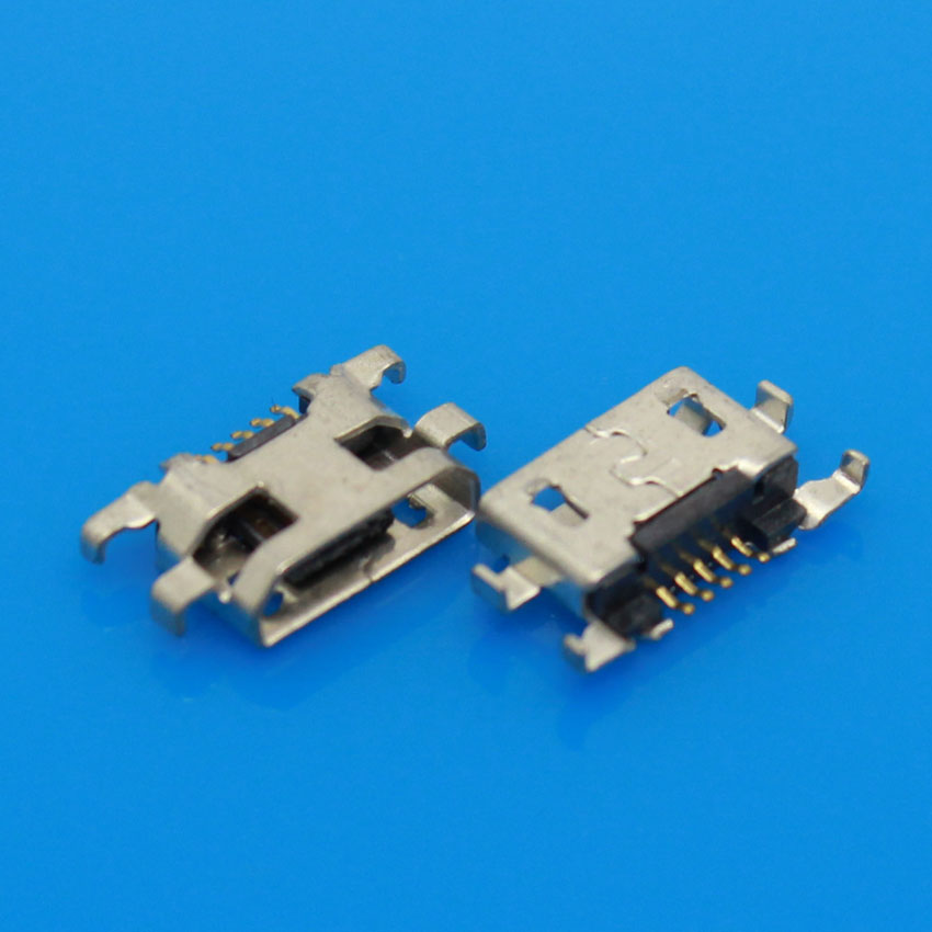 JCD Mini Micro <font><b>USB</b></font> Jack Female Socket connector charger <font><b>charging</b></font> <font><b>port</b></font> dock plug data 5pin for <font><b>Nokia</b></font> <font><b>lumia</b></font> <font><b>625</b></font> 1320 for Sony S39h image