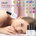Elite99 Shell Gel Polish Soak Off Manicure Nail Varnish Summer Decor UV LED Nail Polish Gel 10ml