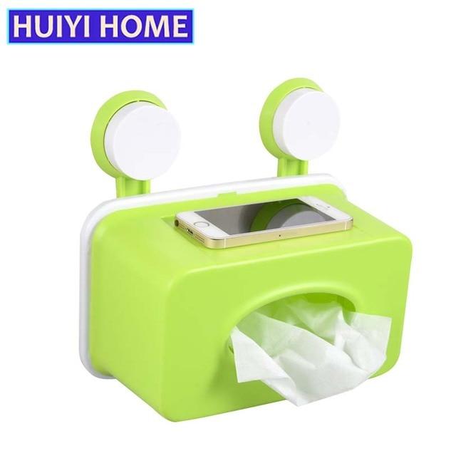 Huiyi Home Fashion Sucker Wandmontage Badkamer Opslag Tissue ...