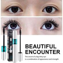 Eye Makeup QIC Double Waterproof Long Curl Encryption Lengthened Smudge Thick Elongated  Mascara Maquiagem Profissional Completa