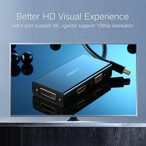 Image 3 - منفذ عرض صغير من Ugreen Thunderbolt إلى HDMI/VGA/DVI كابل محول محول لجهاز Apple MacBook Air Pro 4K منفذ عرض صغير إلى VGA