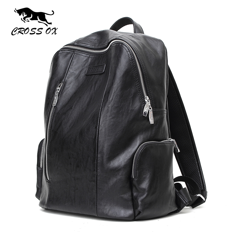 купить  CROSS OX 2017 New Arrival Spring Fashion Backpacks For Men and Women School Bags Casual Style Bags Simple Bag BK031M  недорого