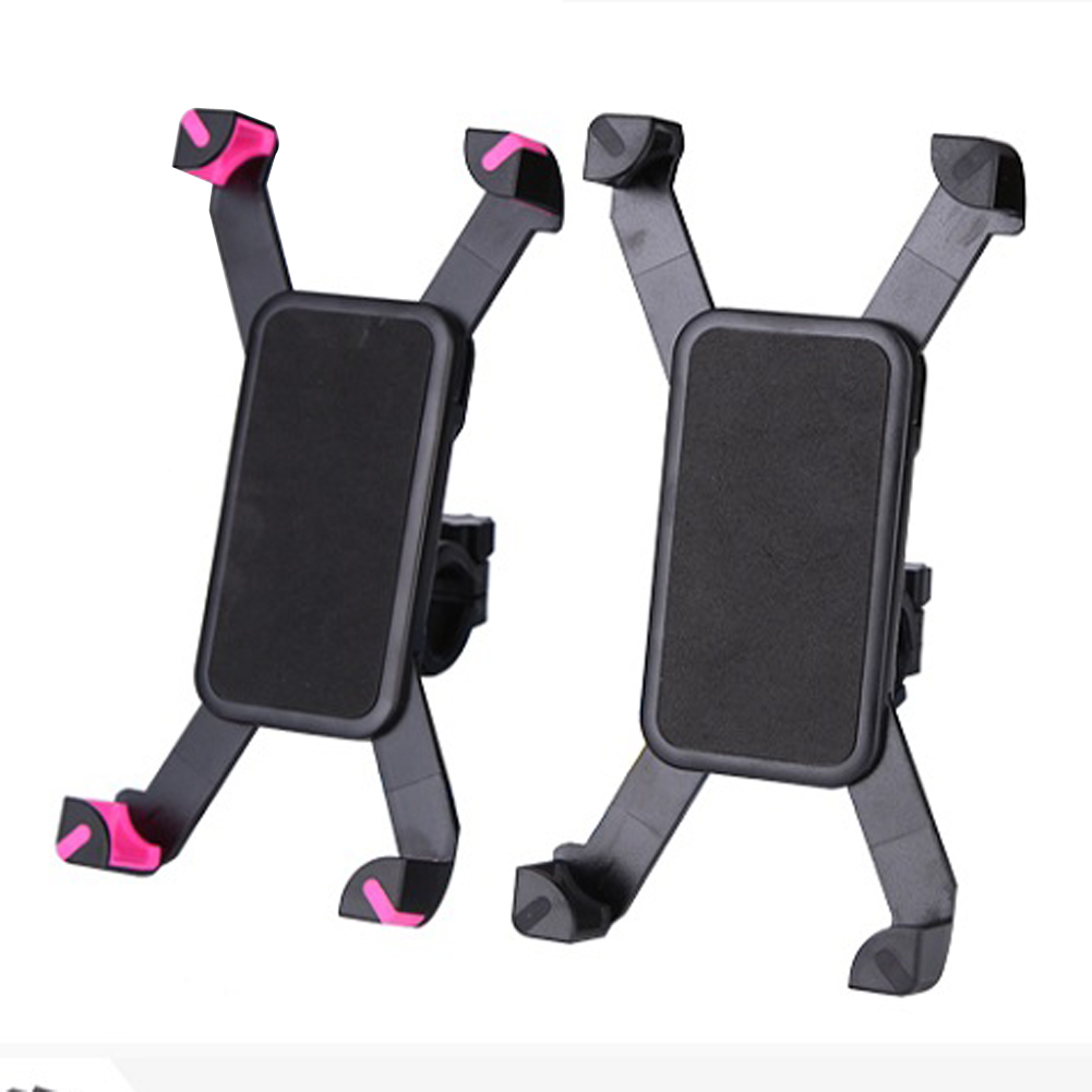 Adjustable Universal Motorcycle MTB Bike Bicycle Mount Holder Band For iPhone Samsung Cell Phone Panniers Cycling Accessories bicycle phone holder universal mtb bike handlebar mount holder cell phone stand bicycle holder cycling accessories parts