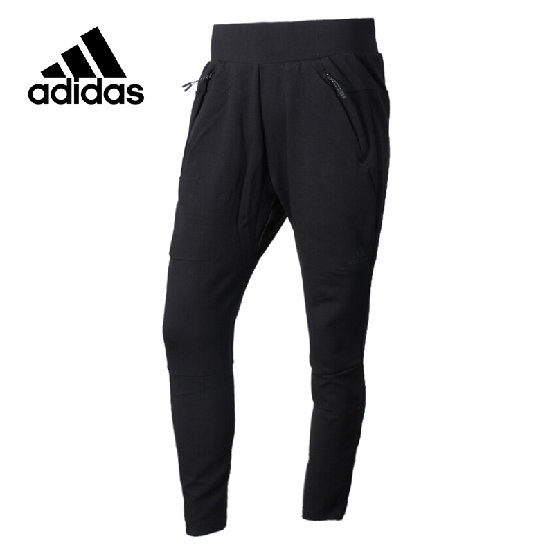 Original New Arrival Official Adidas NEO Women's knitted Pants Breathable Elatstic Waist Sportswear adidas original new arrival official women s tight elastic waist full length pants sportswear aj8153