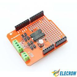 Elecrow Высокое Качество Ardumoto L298P 2A Мотор Щит для Arduino Электронных DIY Kit Бесплатная Доставка