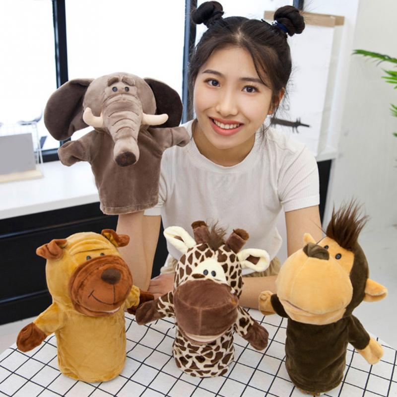 Kids Hand Glove Cute Fun Puppet Lightweight Plush Gift Animal Toy Baby Girl Puppet