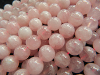Free Shipping Natural Madagascar Pink Quartz 12 12 5mm Round Gem Stone Loose Beads For Jewelry