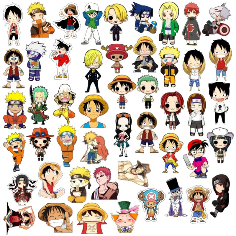 Anime Cartoon Badges Monkey D. Luffy NARUTO Acrylic Brooch For Student Clothes Brooches Pins Bag Decor Brooch Badges Accessories