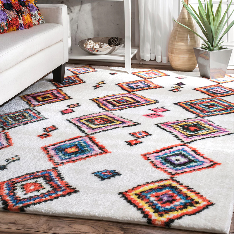 200X290cm Soft Thicker Morocco Carpets For Living Room Bedroom Kid Room Rugs Nordic Style Home Carpet