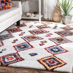 200X290cm miękkie grubsze maroko dywany do salonu sypialnia pokój dziecięcy dywaniki styl skandynawski dywan do domu dywanik na podłogę dywan do składania w Dywany od Dom i ogród na