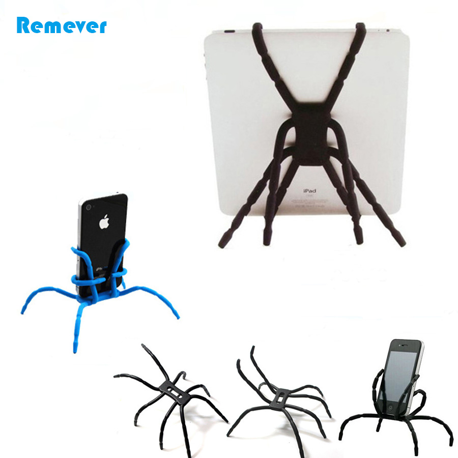 9 Colors Mini Spider Flexible Tripod Portable Small/Large Stand Holder For Ipad Iphone Phone Samsung Huawei Xiaomi Camera