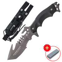 HX OUTDOORS Predator Tactical Survival Camping Knife High Quality Hunting Survival Tactical Knife Jungle Survival Knife