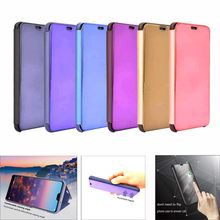 Sleep Wake UP Flip Leather Stand Holder Case Cover For Huawei P20 Lite Apr27(China)